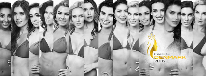 FACE OF DENMARK 2016 Miss Universe Miss Earth Miss International & Miss Supranational