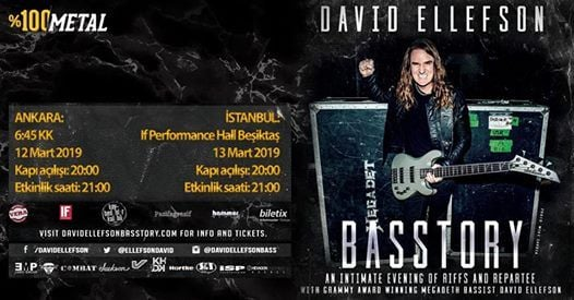 David Ellefson - Basstory