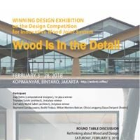 Wood is in the Detail - Winning Design Exhibition on the Design