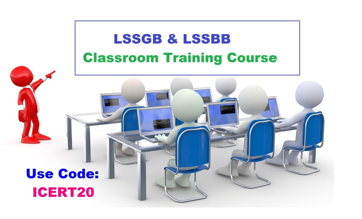 LSSGB and LSSBB Classroom Training in Ojai CA