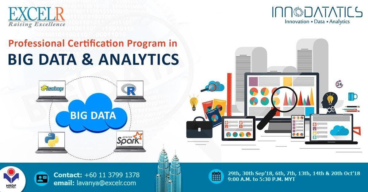 Professional Certification Program In Big Data Analytics At Menara