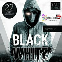 BLACK &amp WHITE Theme Party With DJ BLAQUE  Electra By Salt