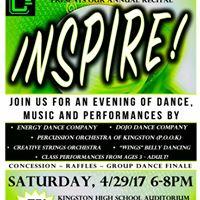 CCEs Annual Recital Inspire