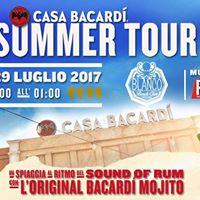 Bacardi SummerTour BlancoBeachClub Fregene Marittima