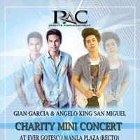 GIAN GARCIA AND ANGELO KING SAN MIGUEL MEET AND GREET (CHARITY MINI CONCERT)