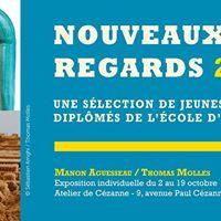 Nouveaux Regards 2017  Manon Aguesseau  Thomas Molles