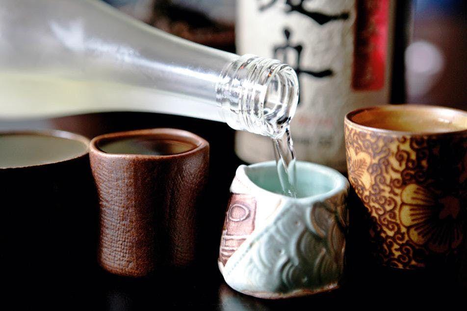 De Wine Spot Sake Tasting