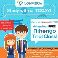 Free Japanese Trial Class