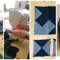 Sewing workshop for the Better way campaign
