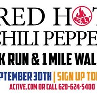 Red Hot Chili Pepper 5K Run &amp 1 Mile walk