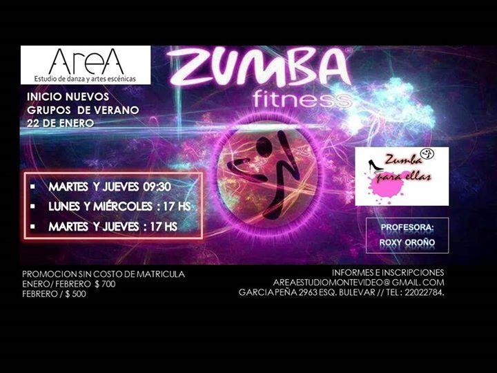 Zumba En La Maana- Area Estudio