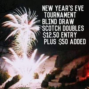 New Years Eve Blind Draw Pool Tournament At The Bar On Veterans