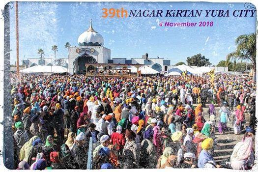 39th Annual Nagar Kirtan Yuba City California 2018