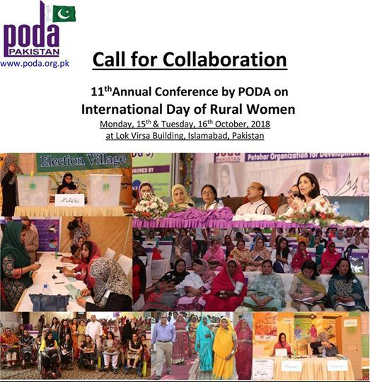 11th Annual Conference by PODA at Lok Virsa