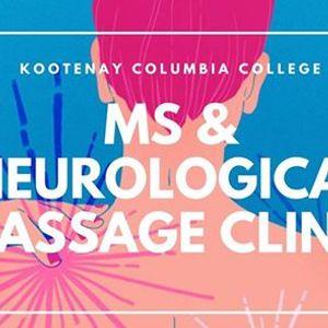 MS & Neurological RMT Student Massage Clinic