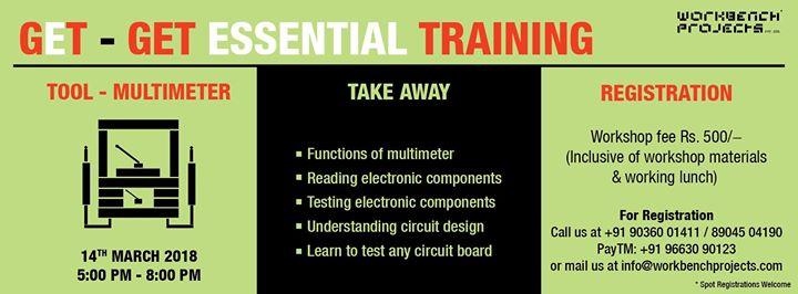 Get Essential Training - Multimeter