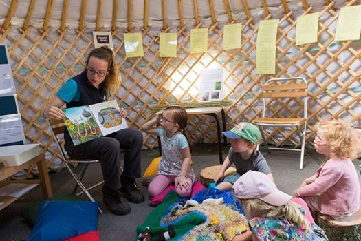 Stories in the yurt