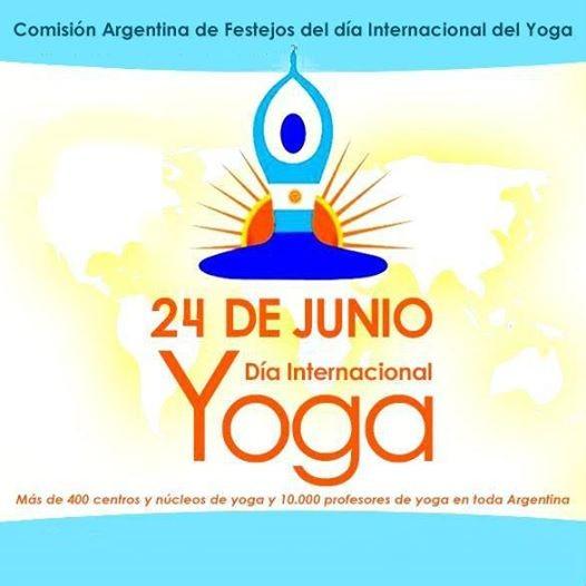 Dia internacional del yoga 2018