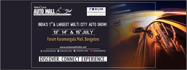 Auto Mall at Forum Koramangala Bangalore