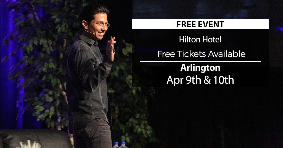 (FREE) Millionaire Success Habits revealed in Arlington by Dean Graziosi