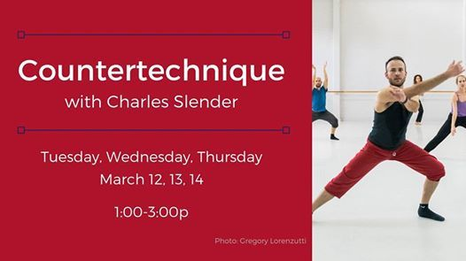 Countertechnique with Charles Slender