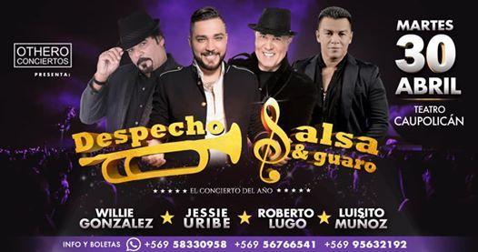 Despecho Salsa y Guaro con Jessie uribe willie gonzalez y mas