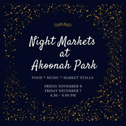 Night Markets at Akoonah Park