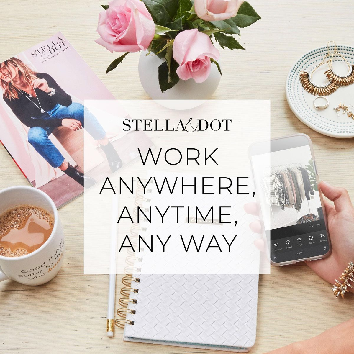 Coffee & Conversation Learn About the Stella & Dot Stylist Opportunity