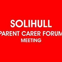 Solihull Parent Carer Forum Meeting
