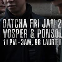 Datcha Friday with Vosper &amp Ponsolo