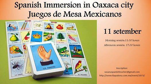 Juegos De Mesa Mexicanos At Tlayudona100 Miguel Hidalgo 68080