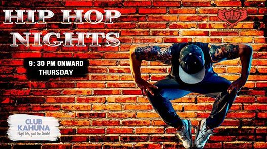 Hip Hop Night on 16th August