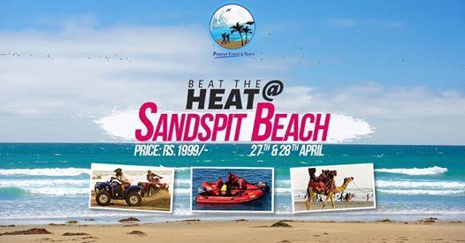 BEAT THE HEAT AT SANDSPIT BEACH