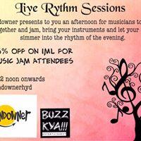 Live Rhythm sessions