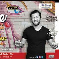Goan Comedy Club Presents Rude Feat. Sundeep Raos Special Live In Goa