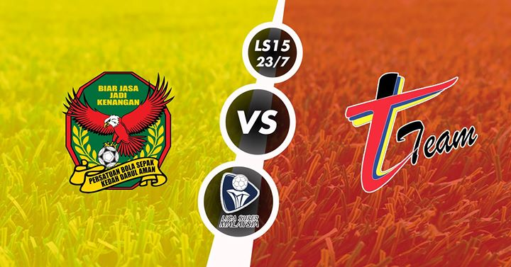 Live Streaming Kedah vs T-Team 24 Mei 2017 Liga Super