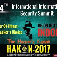 Hakon-2017 Cyber Security Conference