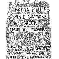 Britta Phillips SHEER Sylvie Simmons and Crush the Flowers