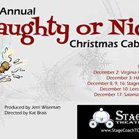 Naughty or Nice Christmas Cabaret