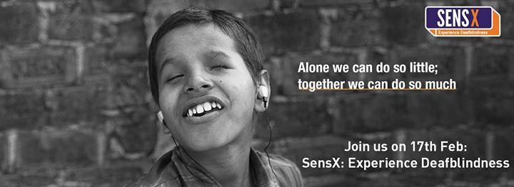 SensX - Experience Deafblindness