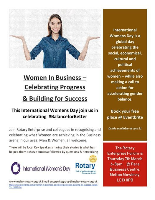 Women In Business Celebrating Progress & Building for Success