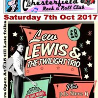 Lee Lewis And The Twilight Trio  Chesterfield Rnr Club
