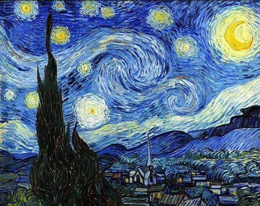 ArtNight Artnight Pro Paint Like Van Gogh - Starry Night am 19