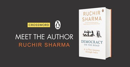 Book Signing Democracy On The Road by Ruchir Sharma