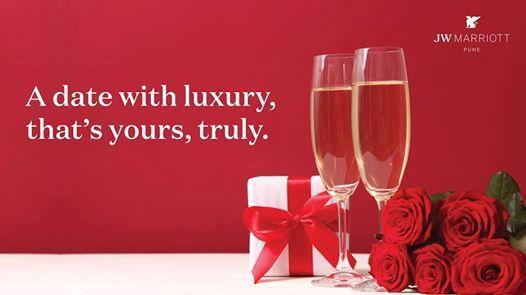 Valentines Day Luxuries at JW Marriott Pune
