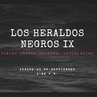 Los Heraldos Negros IX