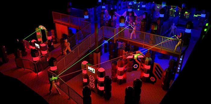 laser tag joint social with pasa at stratum laser tag mesa