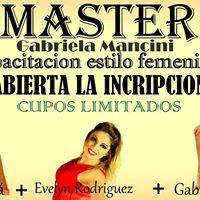 Master Gabriela Mancini BCHE