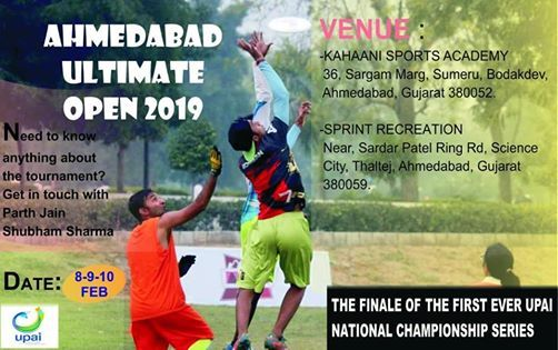 Ahmedabad Ultimate Open 2019
