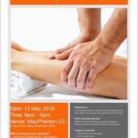 Workshop Intro to Sports Massage